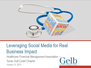 impact of social media on business communication pdf