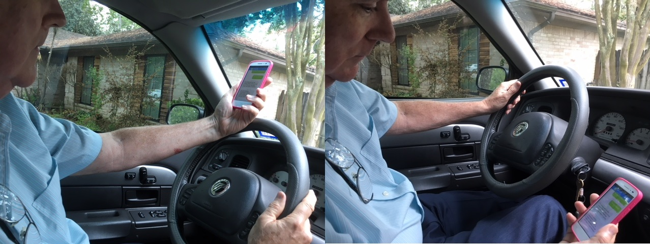 law of Unintended Consequences - texting while driving